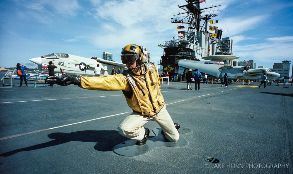 USS Midway, San Diego - Nikon F | Ektar 100 | F16 | 1/500th sec
