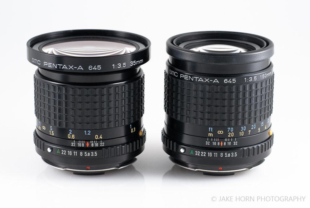 Size Comparison: 150mm vs. 35mm