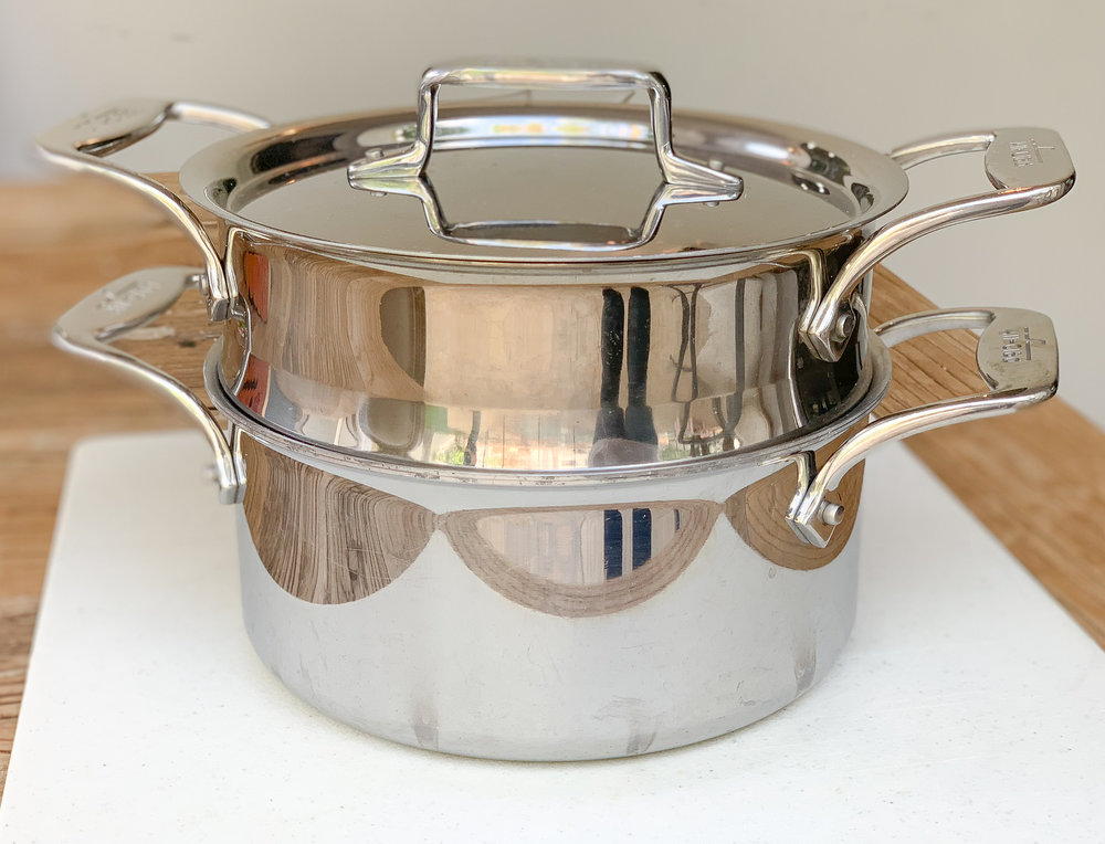 All-Clad 3 Quart Steamer Set
