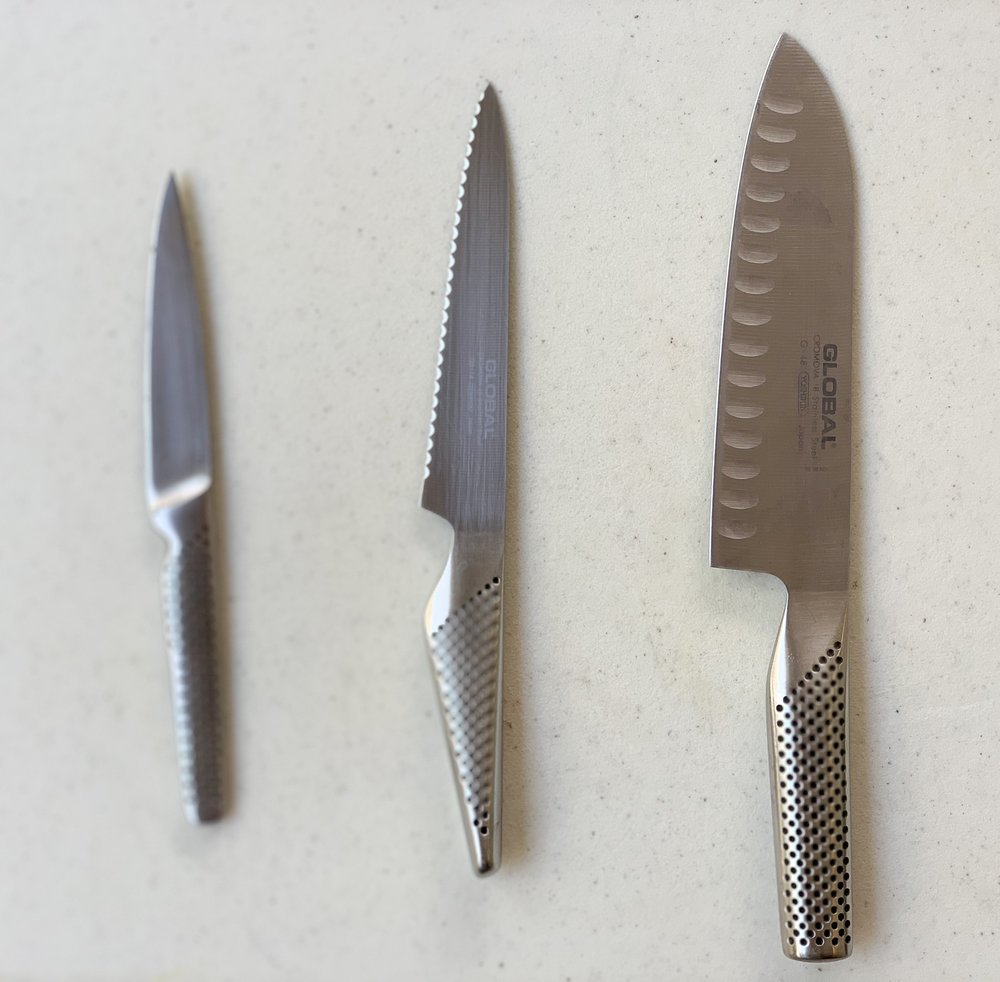 Global knife set