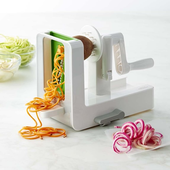 PADERNO SPIRALIZER   This is a great gift for those #healthspo #paleo #Glutenfree friends of ours. It is such a time saver in the kitchen when it comes to vegetable prep. Keep the Paderno Spiralizer in mind for the creative foodie in your life.