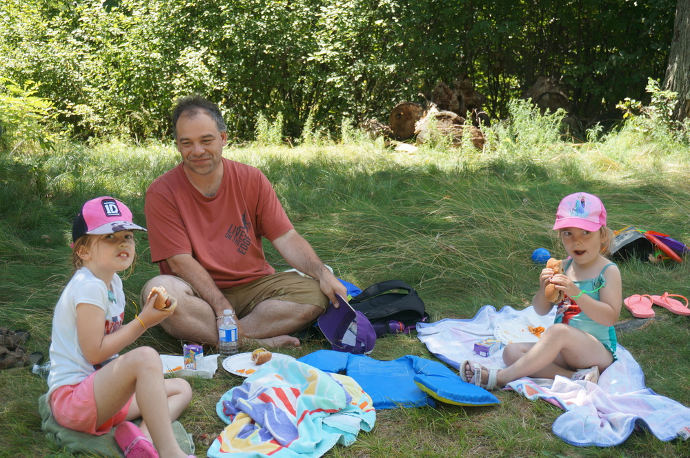 British participants enjoying a picnic.JPG