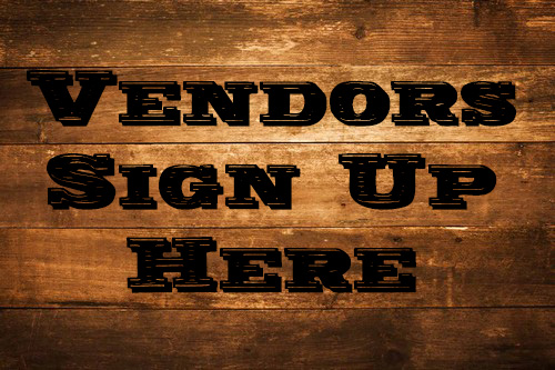 Vendors click here to reserve a table at an upcoming show!