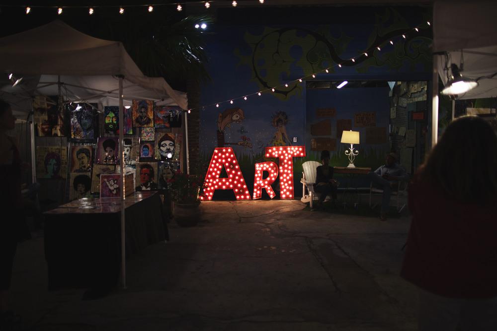 ART at the Frenchmen Art Market.