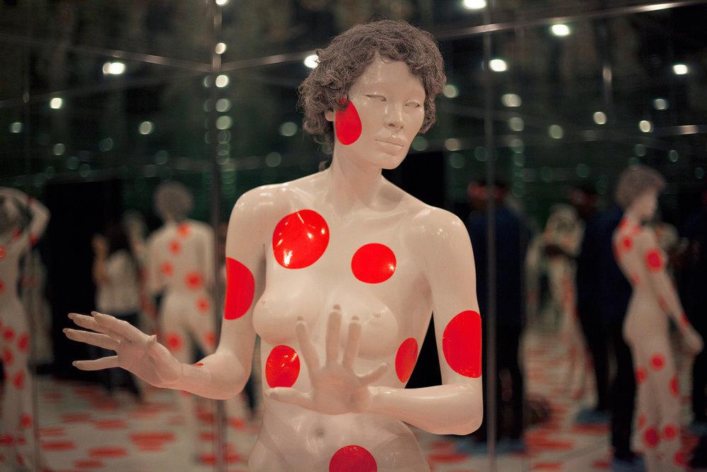 Repetitive Vision by Yayoi Kusama.