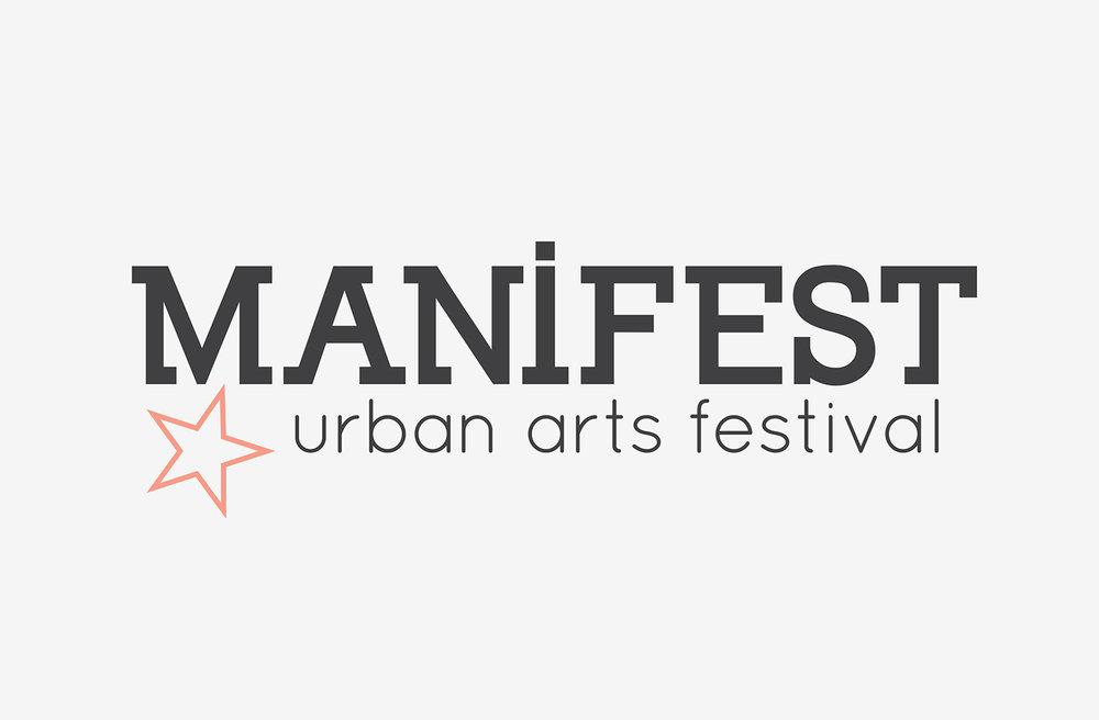 Manifest wordmark with a simpler star.