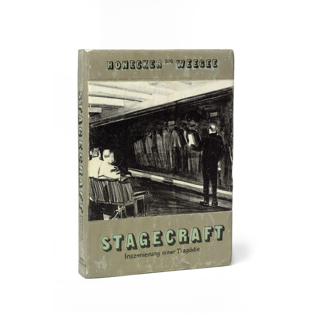 Stagecraft (Production of a Tragedy) by Honeker and Weegee, front view