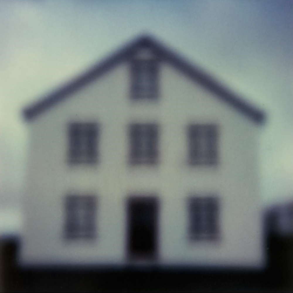 Icelandic Houses No. 2 (polaroid)