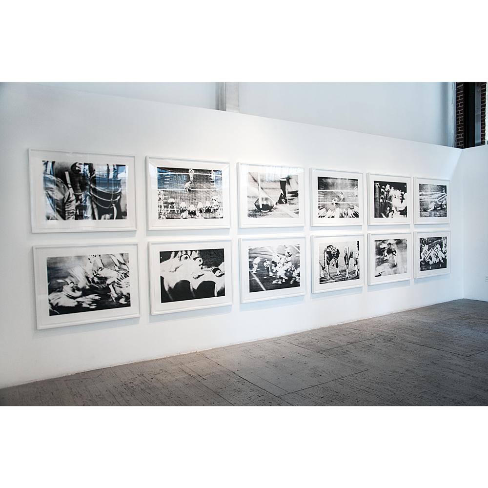 Untitled (Nancy Holt) installation