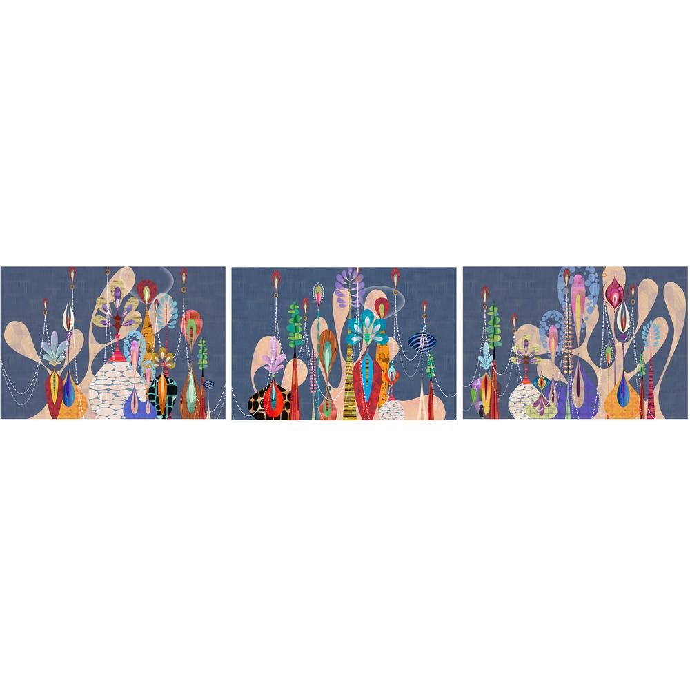 Platismatia (triptych)