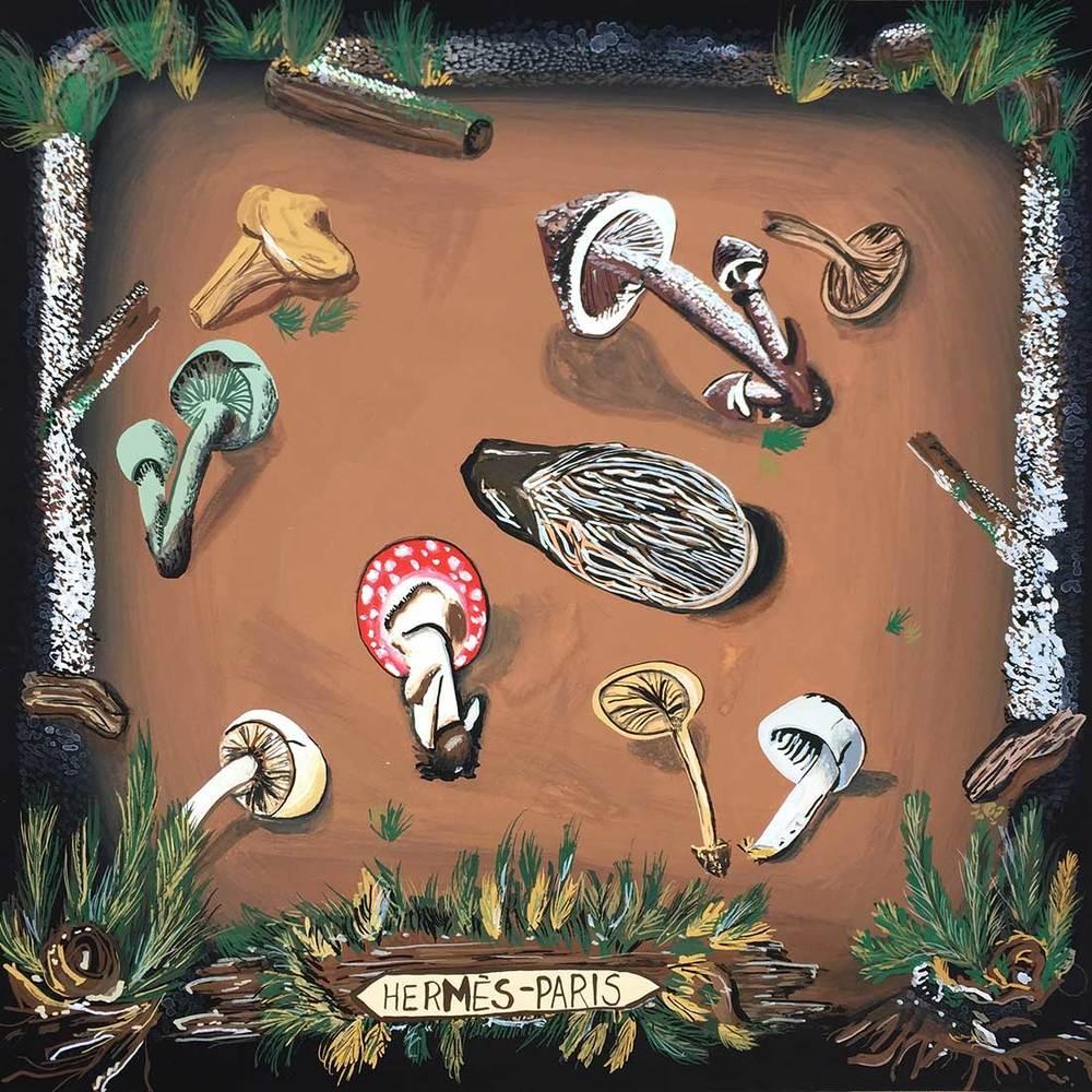 Hermes Mushrooms
