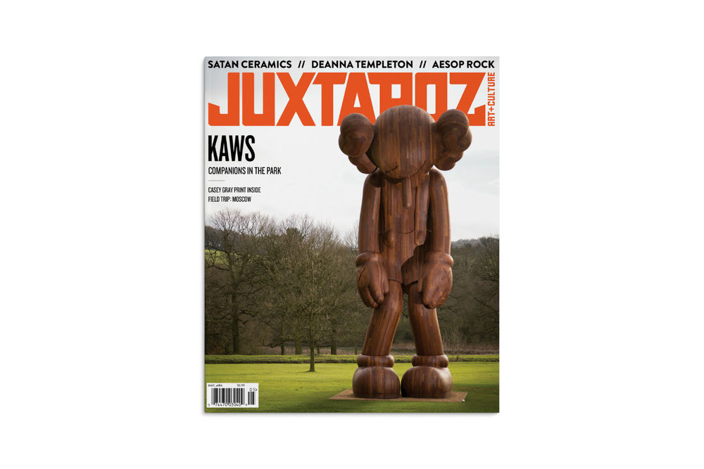 "Get your copy of the May 2016 issue of Juxtapoz and read about Josh Jefferson making ""perfect strokes."""