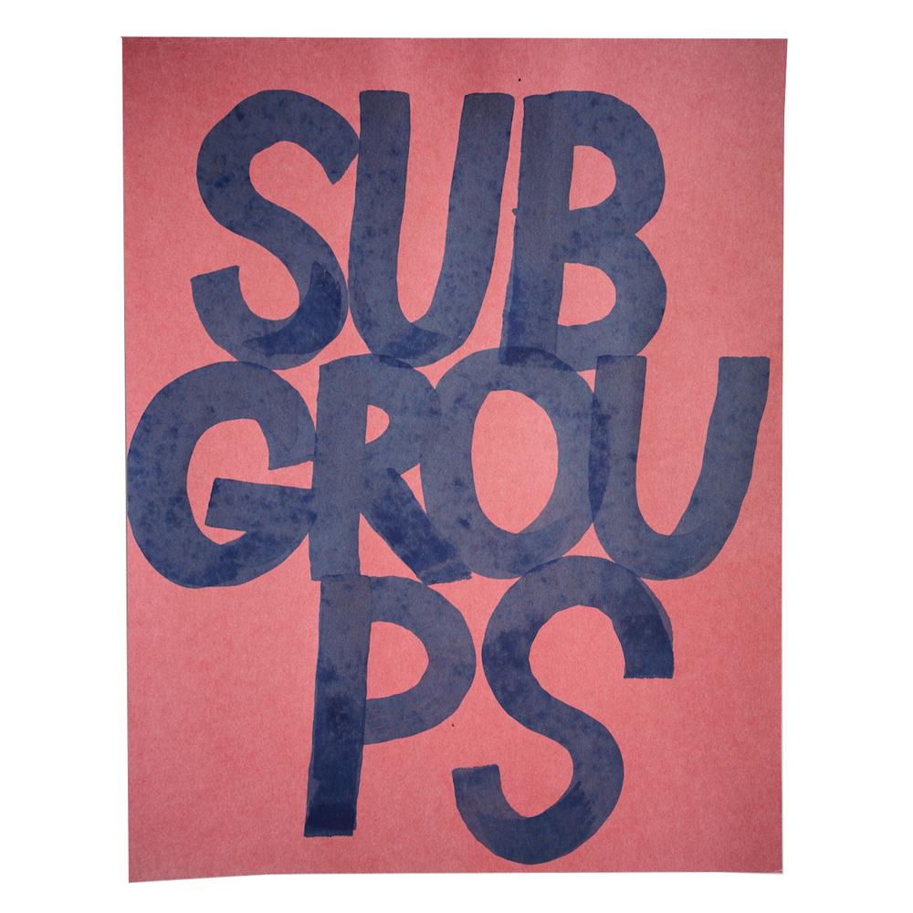 Subgroups (detail)