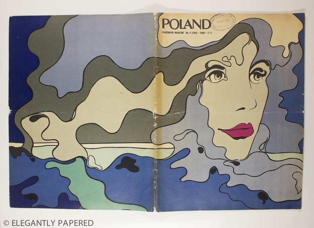 Poland    Illustrated cover - 'Early Spring' by graphic artist Roman Cieslewicz said to be one of the most influential graphic designers of the 20th Century. For more on his work see,    Source: BBC