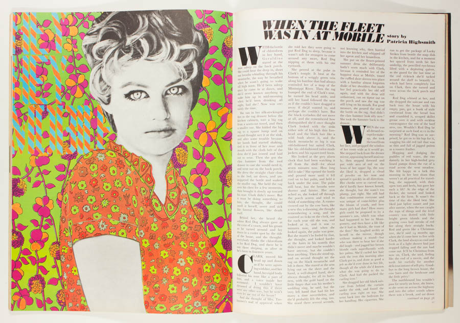 Illustration by Ian Dury for  London Life  - 1965