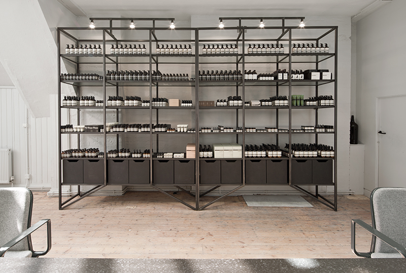 AESOP'S LONDON HEADQUARTERS