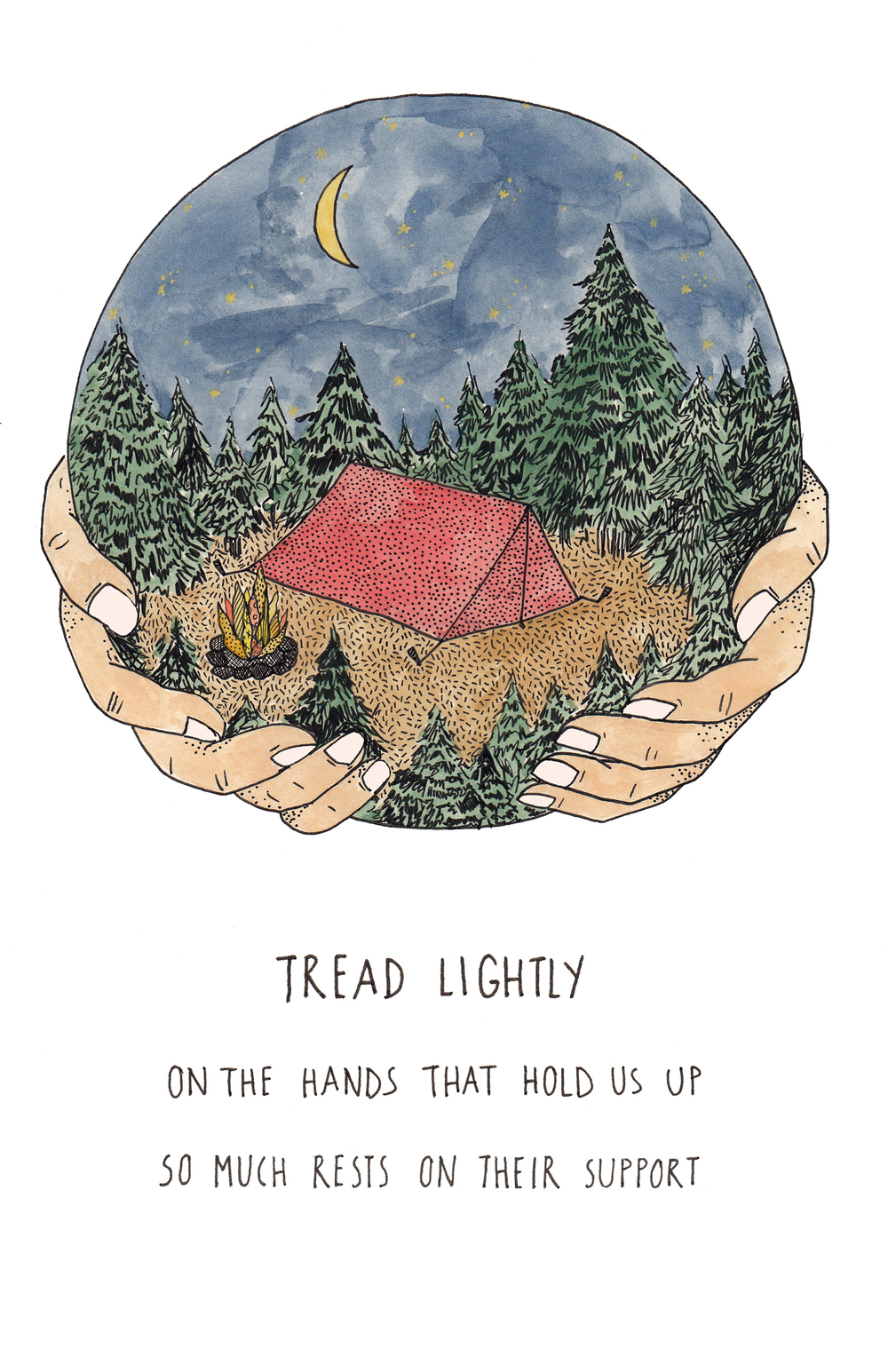 Tread Lightly   by Mali Fischer