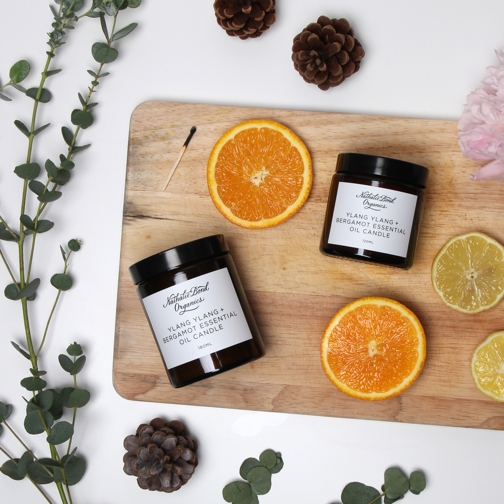 Nathalie Bond Organics Candles