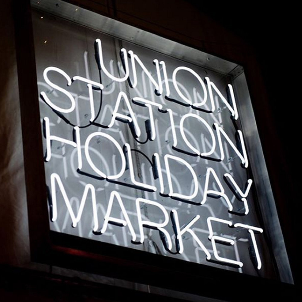 THE UNION STATION HOLIDAY MARKET:   Dec. 5 - 16, 65 Front St. W. (The Oak Room), Toronto.  Showcases unique goods from specialty retail vendors, artisans, designers, food merchants and cultural institutions.