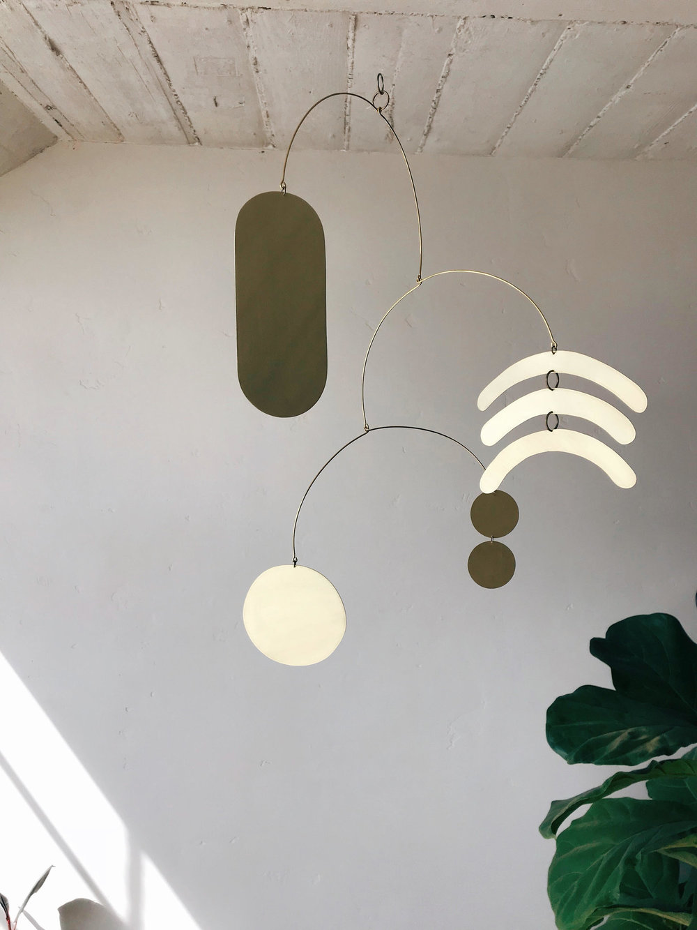 Brass Mobile by Electric Sun Creatives