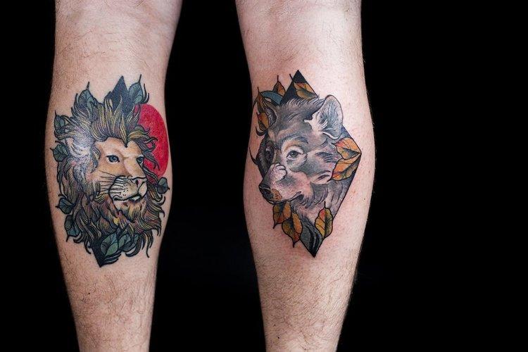 Andi Fitzpatrick neo-traditional tattoo art