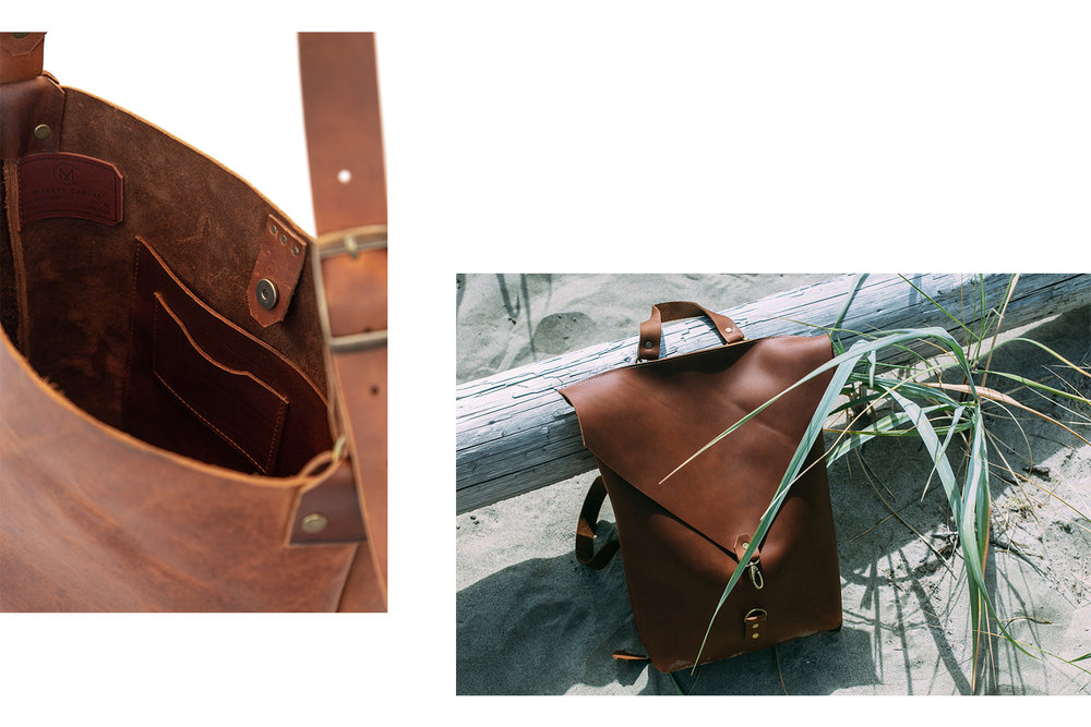Shop Handmade with Market Canvas Leather at Toronto's One of a Kind