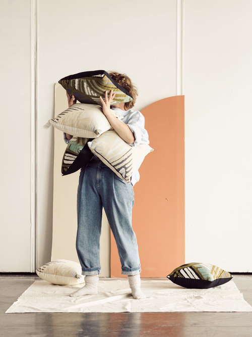 Throw Pillows by Calica Studio