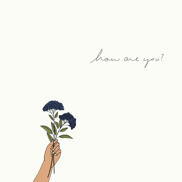How are you?⠀⠀⠀⠀⠀⠀⠀⠀⠀ ⠀⠀⠀⠀⠀⠀⠀⠀⠀ I'm thinking about touching base with artists and past contributors that have followed since the early days and asking this simple question in hopes of a getting a sincere and candid reply. It seems like an empty question these days, but I really want to know...⠀⠀⠀⠀⠀⠀⠀⠀⠀ ⠀⠀⠀⠀⠀⠀⠀⠀⠀ How are you?⠀⠀⠀⠀⠀⠀⠀⠀⠀ ⠀⠀⠀⠀⠀⠀⠀⠀⠀ Illustration by @malifischer from our collaboration for Issue 4: Women ✨ #makersmovement
