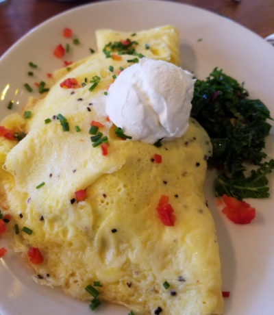 Tupelo Honey Southwestern Omlette
