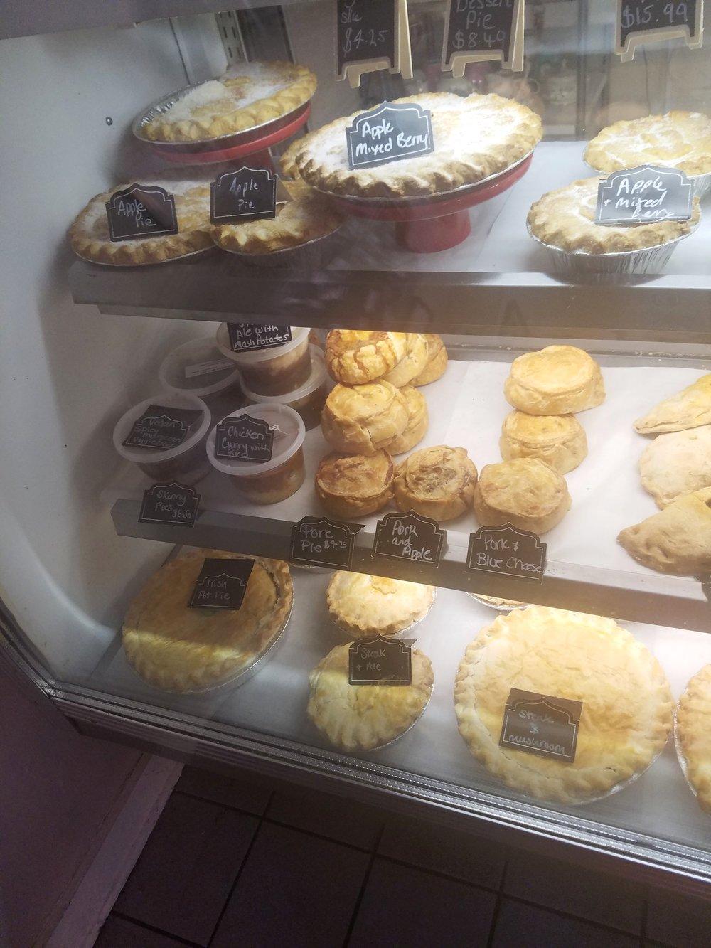 British Pastries