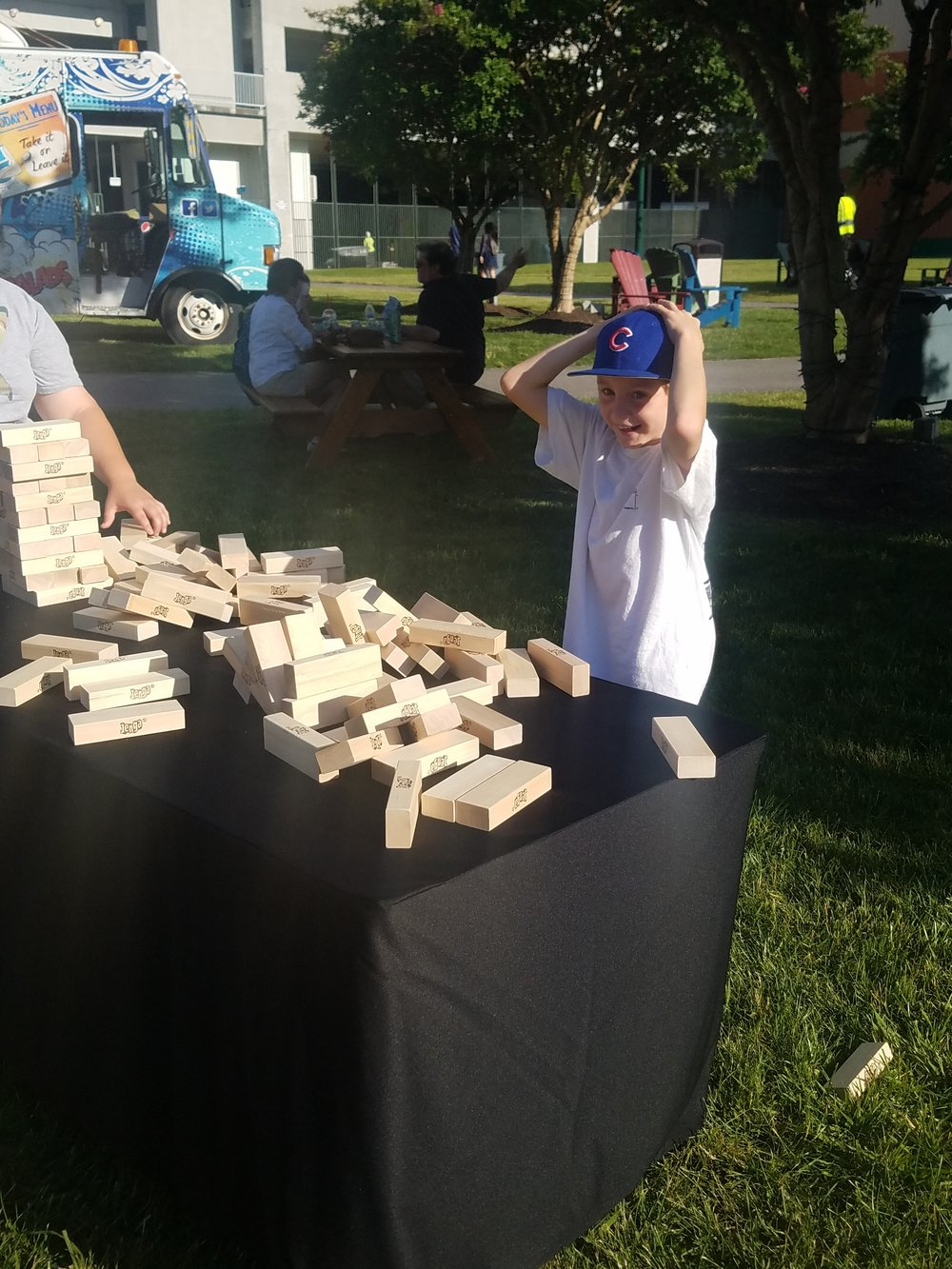 ETS 757 Food Truck Rodeo Jenga