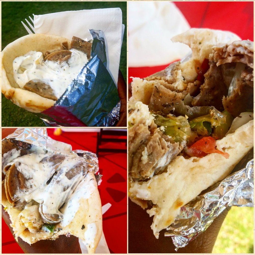 Lamb Gyro from Granby Bistro and Deli