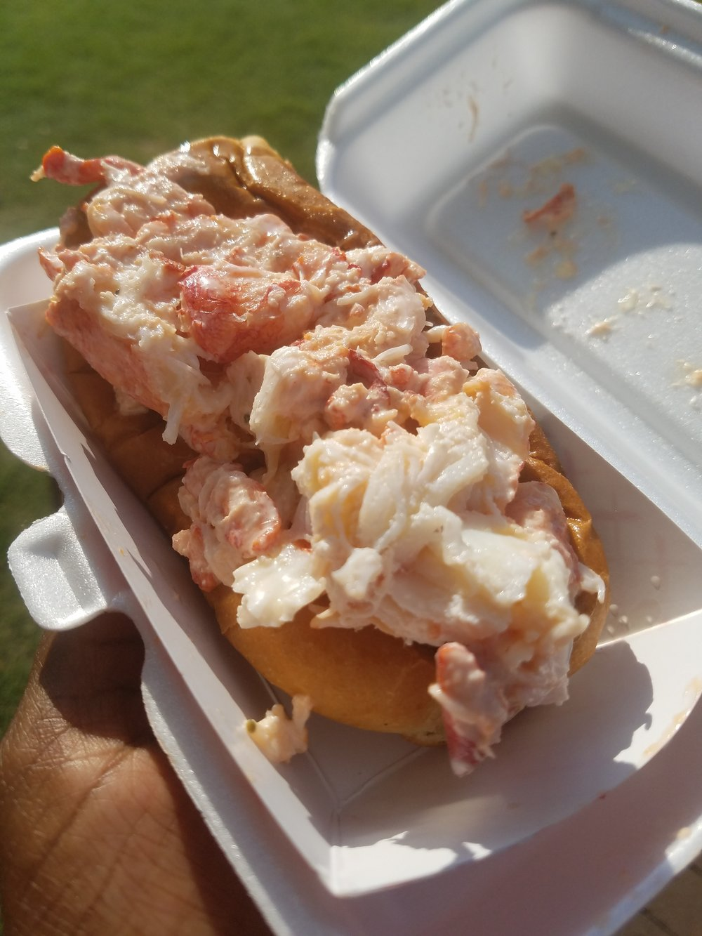 Lobster Roll from A Bite of Maine
