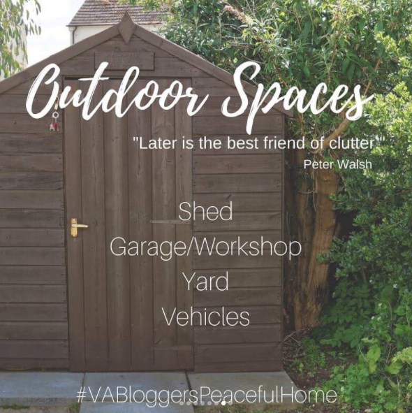 VA Bloggers Peaceful Home Organization Outdoor Spaces