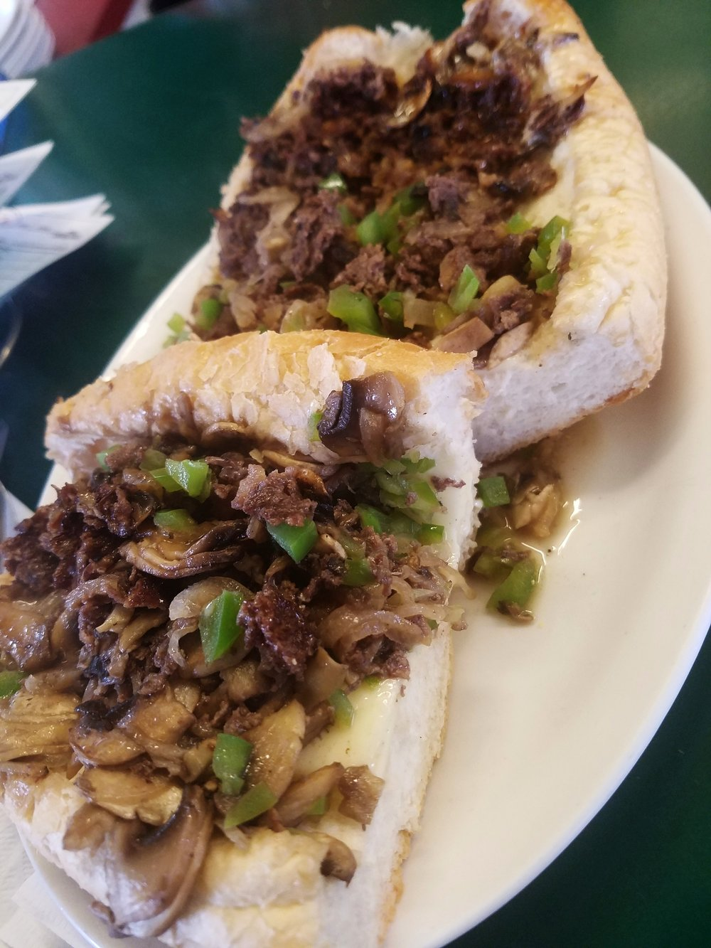 The Grill at Great Bridge Cheesesteak