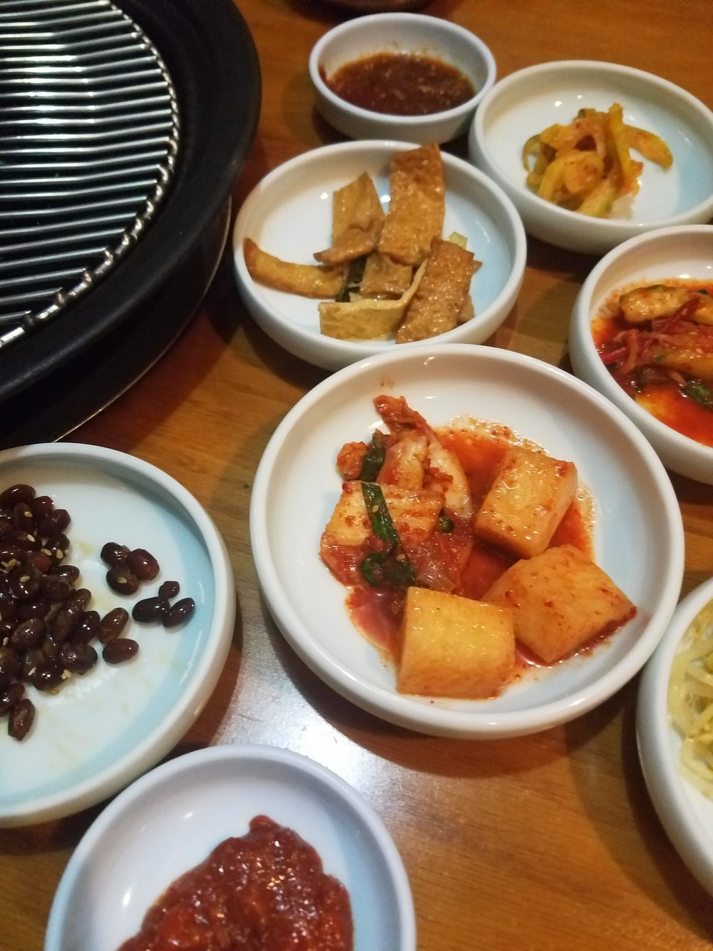 Korean BBQ Banchan Norfolk Garden