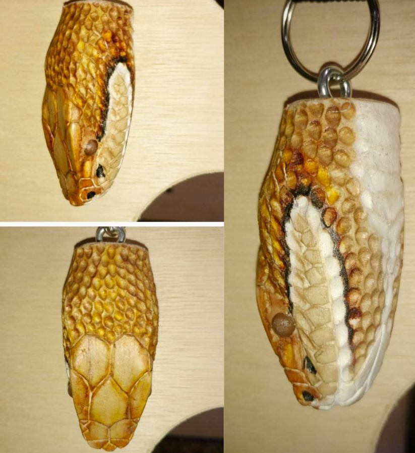Copperhead key chain