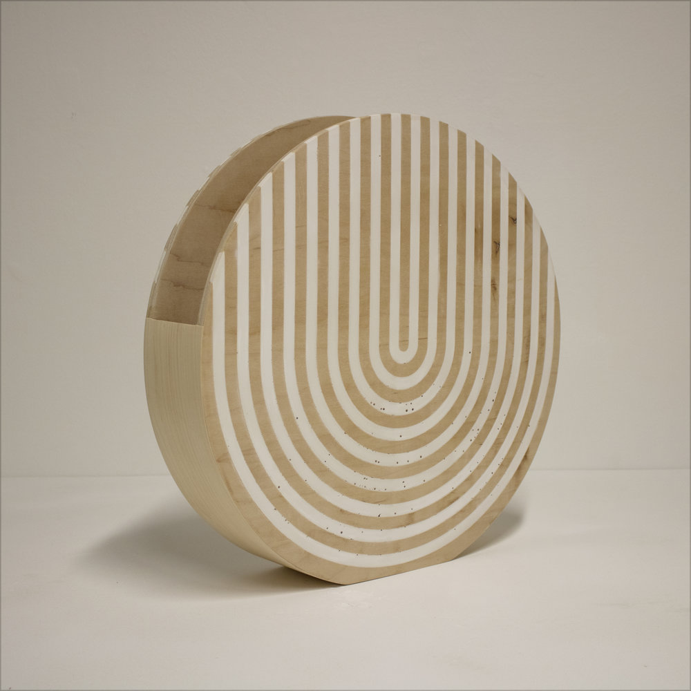 Circle Vessel (White)