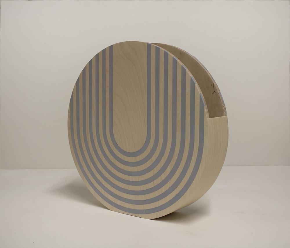 Circle Vessel (Blue)