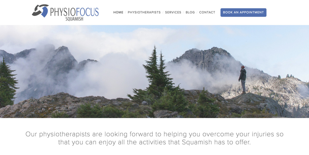 physiofocus squamish website