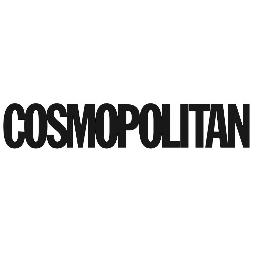 Cosmopolitan logo, link to article