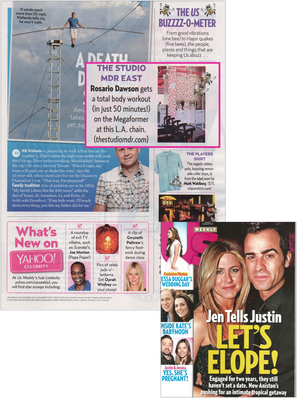 US Weekly article, Nov 14
