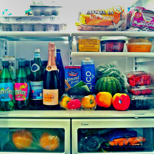 A Peek Inside Mary's Fridge