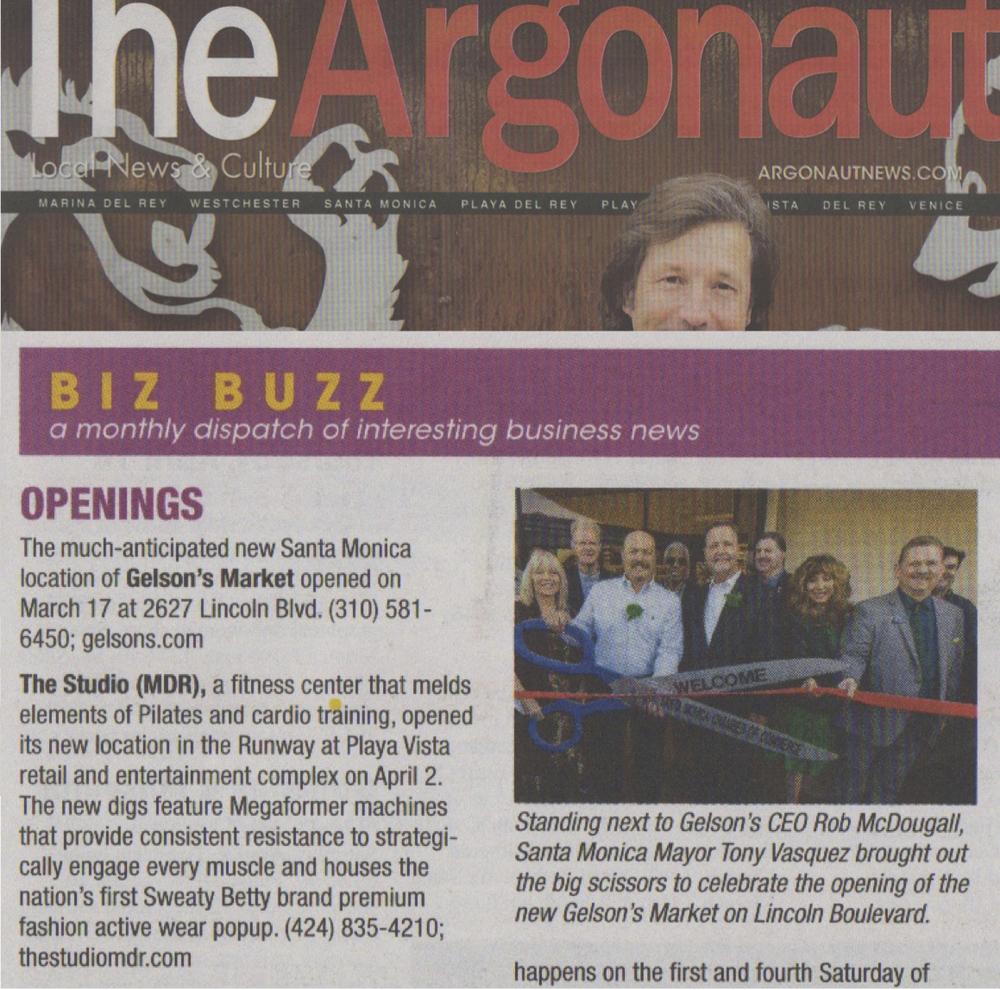 Argonaut article, April 2016