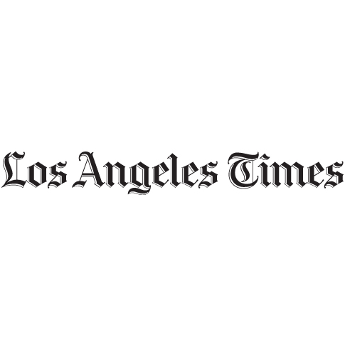 Los Angeles Times logo, link to article