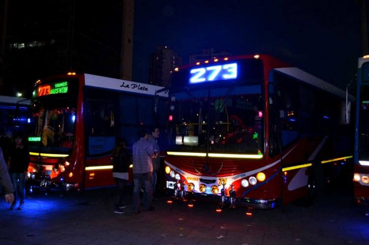 Carteles para buses - Expo La Plata