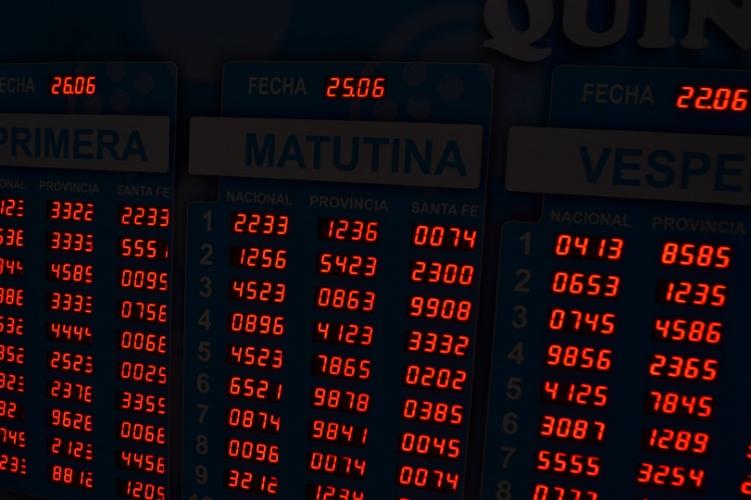Cartel de lotería - L16x10m
