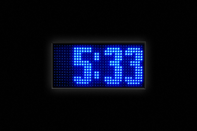 Relojes LED - Display de hora