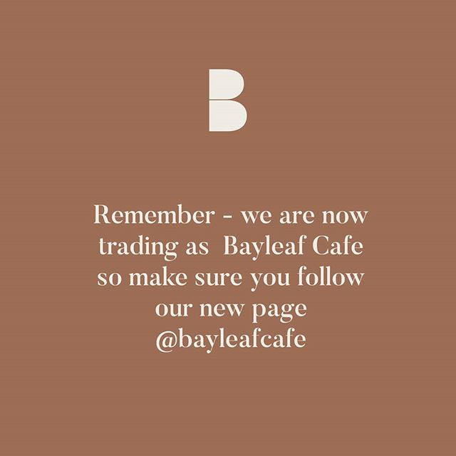 Make sure you follow our new page @bayleafcafe for all our sexy food photos and updates for what's happening. L&G is still here we are just operating under the one name now.