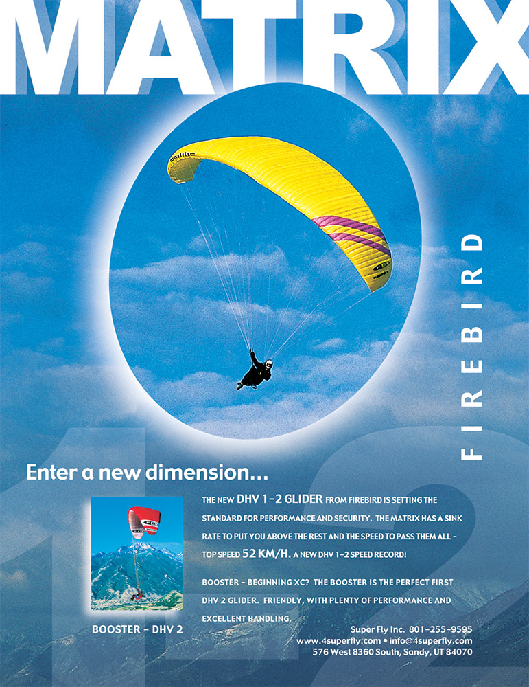 Firebird Matrix Paraglider
